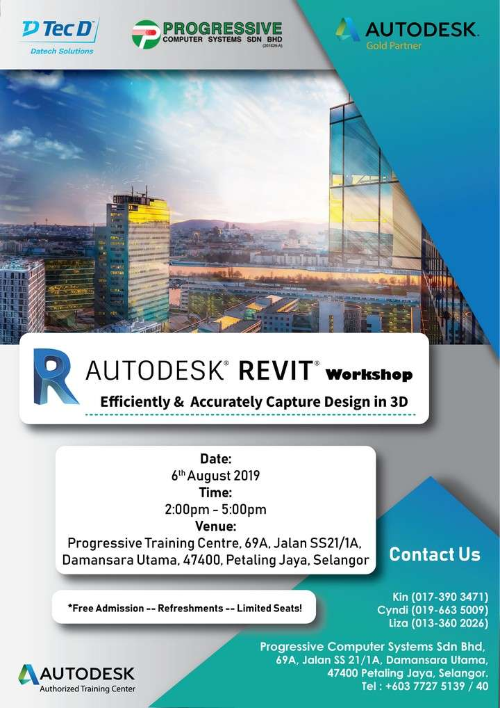 Revit: Efficiently & Accurately Capture Design in 3D