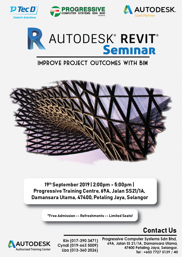 Revit Seminar & Improve projects outcomes with BIM-01